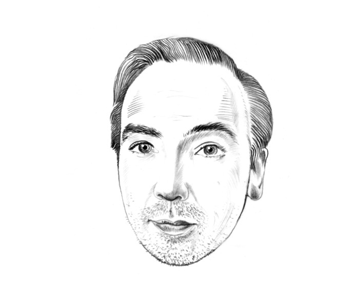 Olli Schulz TAZ – Die Tageszeitung Illustration Inga Israel ingaisrael.de