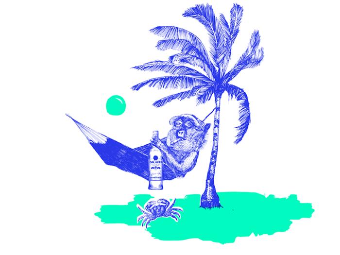 »Cocktailian – Rum & Cachaça« Illustration Inga Israel ingaisrael.de