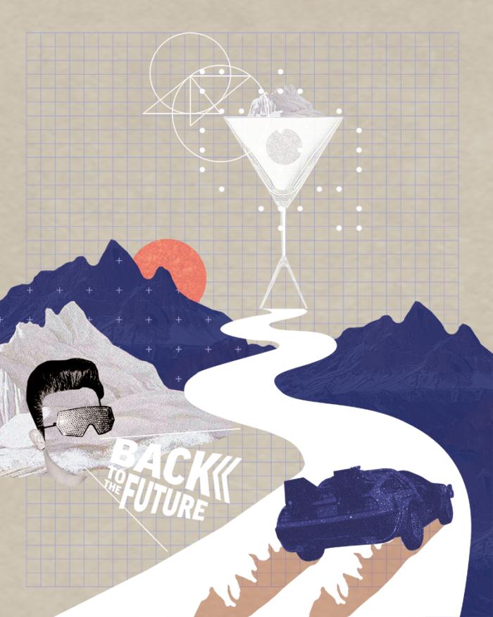 Inga Israel Illustration im Mixology Magazin für Barkultur in der Rubrik Trinkwelt
