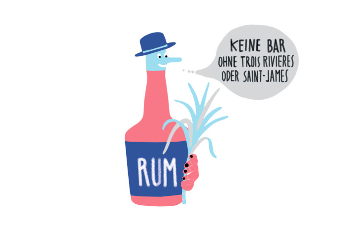 Mixology – Magazin für Barkultur 2017 Trinkwelt Frankreich Editorial Illustration Berliner Illustrator Inga Israel ingaisrael.de Mixology Bar Awards Bar Convent Berlin Rum