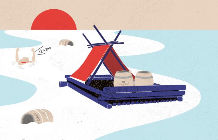 Inga Israel ingaisrael.de Illustration im Mixology Magazin für Barkultur in der Rubrik Trinkwelt