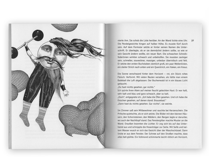 Kurzgeschichtenband Reise nach Loitoktok Illustration und Layout Inga Israel ingaisrael.de Texte Roman Israel