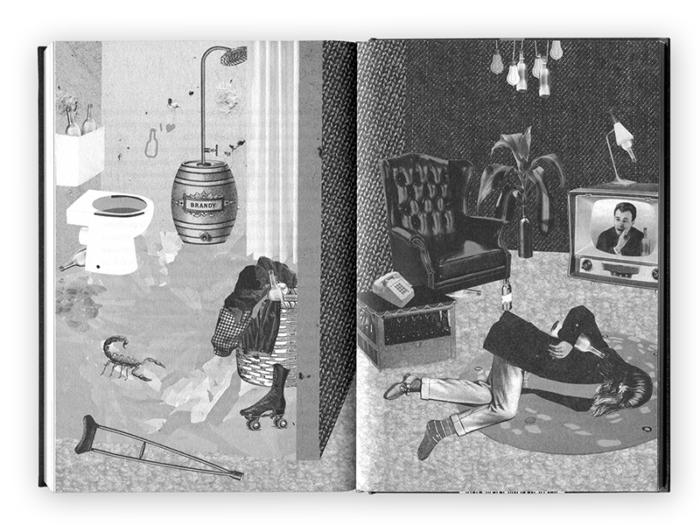 »Ernährungsgrundlagen für den leidenschaftlichen Trinker« Sandy Fawkes Illustration Inga Israel ingaisrael.de