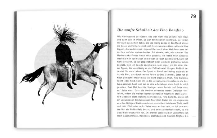 Kurzgeschichtenband Leise Ahnung von Sonne Illustration und Layout Inga Israel ingaisrael.de Texte Roman Israel