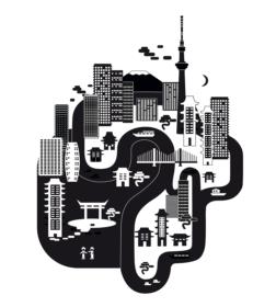 Pixel-Städte