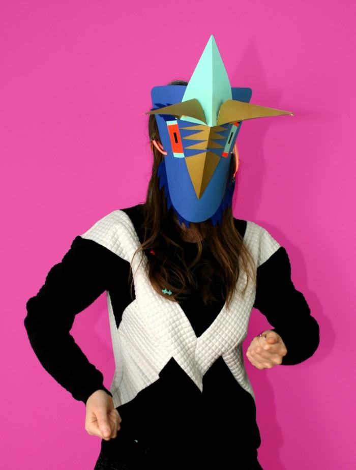 Inga Israel (Gestaltung) Maskenworkshop ingaisrael.de