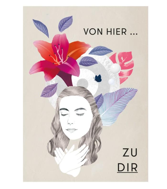 Ilona Bublitz Yoga Lehrer Karam Kriya Lehrer Von hier zu dir Inga Israel Illustration Berlin Illustrator Berlin ingaisrael.de