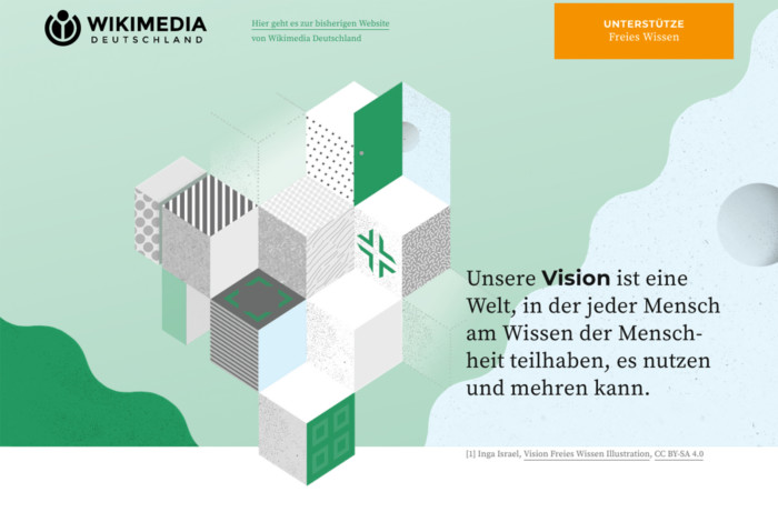 Wikimedia wikimedia.de Inga Israel ingaisrael.de Wikimedia Deutschland e.V. Wikimedia Vision Illustrator Berlin Illustratorin Illustration